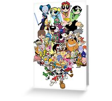 My Childhood - Cartoon Network Characters Greeting Card