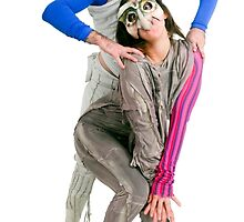 Masked actors in a physical theatre by PhotoStock-Isra