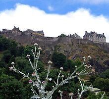Edinburgh Castle by Linda More
