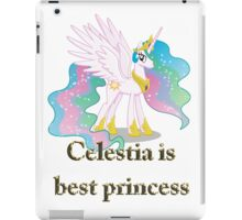 Celestia Is Best Princess iPad Case/Skin
