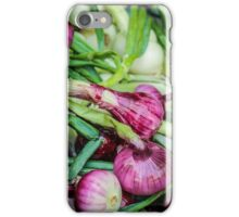 Farmers Market Red Onions iPhone Case/Skin