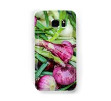 Farmers Market Red Onions Samsung Galaxy Case/Skin