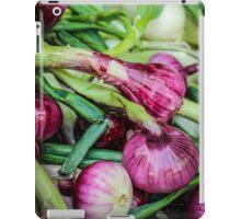 Farmers Market Red Onions iPad Case/Skin