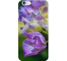 A Sea of Purple, Yellow, and Green iPhone Case/Skin