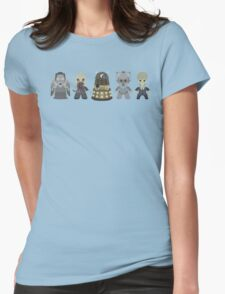 Doctor Who Monsters Womens Fitted T-Shirt