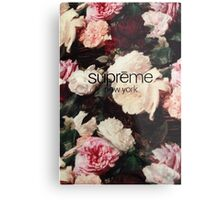 Supreme PCL Media Cases, Pillows, and More. Metal Print