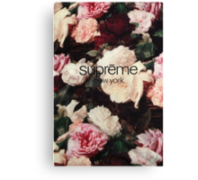 Supreme PCL Media Cases, Pillows, and More. Canvas Print