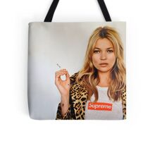 Kate Moss for Supreme Media Cases, Pillows, and More. Tote Bag