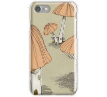 Mushroom Houses iPhone Case/Skin