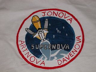 Supernova Shirt (back) by RoboBarb