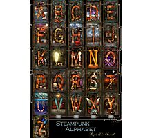 Steampunk - Alphabet - Complete Alphabet Photographic Print