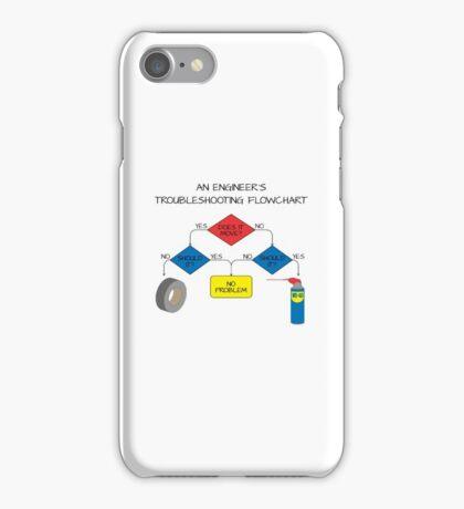 Engineering Flowchart iPhone Case/Skin