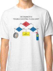 Engineering Flowchart Classic T-Shirt
