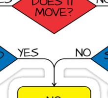 Engineering Flowchart Sticker