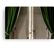 Marie-Antoinette's Window Canvas Print
