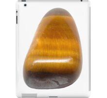Single Tiger Eye Semiprecious Gemstone Gemini Birthstone iPad Case/Skin