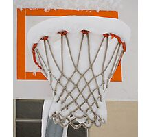 Winter Hoop Photographic Print