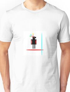 RED FEATHER, abstract figure Unisex T-Shirt