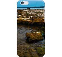 Rock Beach at Selkirk Provincial Park - www.jbjon.com iPhone Case/Skin