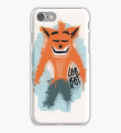 Lab Rat Crash iPhone Case/Skin
