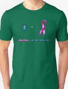 Anything Can Be Defeated(Blue Bomber) Unisex T-Shirt