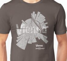 Vienna Map Unisex T-Shirt
