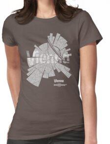 Vienna Map Womens Fitted T-Shirt
