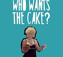 """""""Who Wants The Cake?"""" Lauren Harries Big Brother Quote by realitybox"""