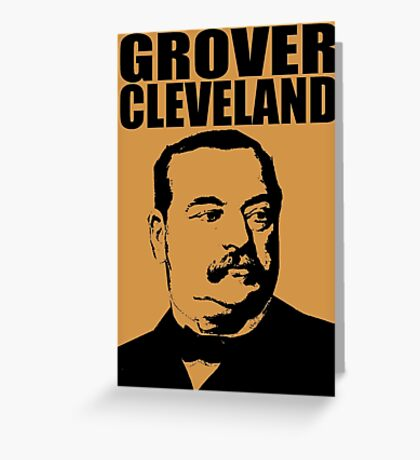 GROVER CLEVELAND-3 Greeting Card
