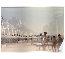 Lomography - multi exposition Poster
