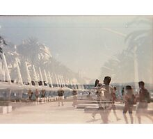 Lomography - multi exposition Photographic Print
