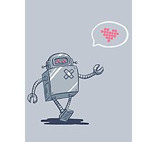Robot Love Photographic Print