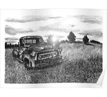 Abandoned Pickup Truck - www.jbjon.com Poster