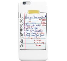 Resolutions 2015 iPhone Case/Skin
