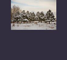Snowy Winter Pine Trees Hoodie