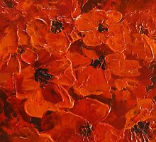 Poppies by Cathy Gilday