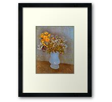 'Lilacs' by Vincent Van Gogh (Reproduction) Framed Print