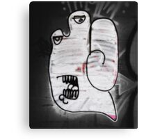 Handy the Graffiti Monster Canvas Print