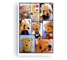 Bad Teddy's Canvas Print
