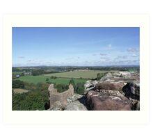 The Wye River Valley Art Print