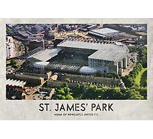 Vintage Football Grounds - St James' Park (Newcastle United FC) Photographic Print