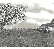 Abandoned Prairie Farmsted - www.jbjon.com by Jonathan Baldock