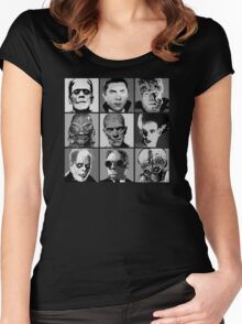 Universal Warhol Black&White Women's Fitted Scoop T-Shirt
