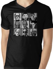 Universal Warhol Black&White Mens V-Neck T-Shirt