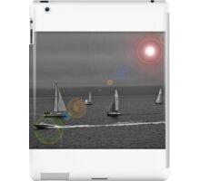 Sailing in Bras D'Or Lake, Nova Scotia - www.jbjon.com iPad Case/Skin