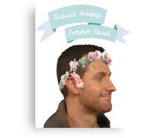 Richard Armitage Protection Squad! Canvas Print
