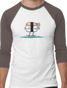 Sushi Skate Men's Baseball ¾ T-Shirt