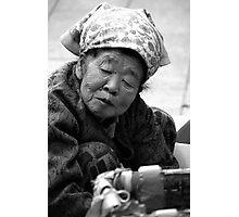 The Market Lady Photographic Print