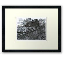 November at the Farm - www.jbjon.com Framed Print
