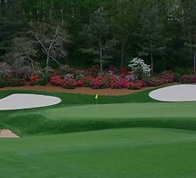 13th Green at Augusta National by jstoeber